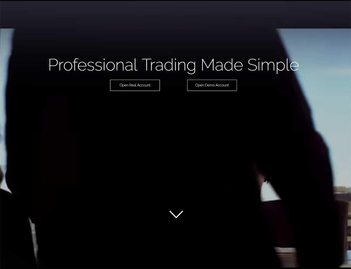 Página web de SimpleTrades