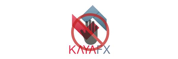 Valoración de KayaFX