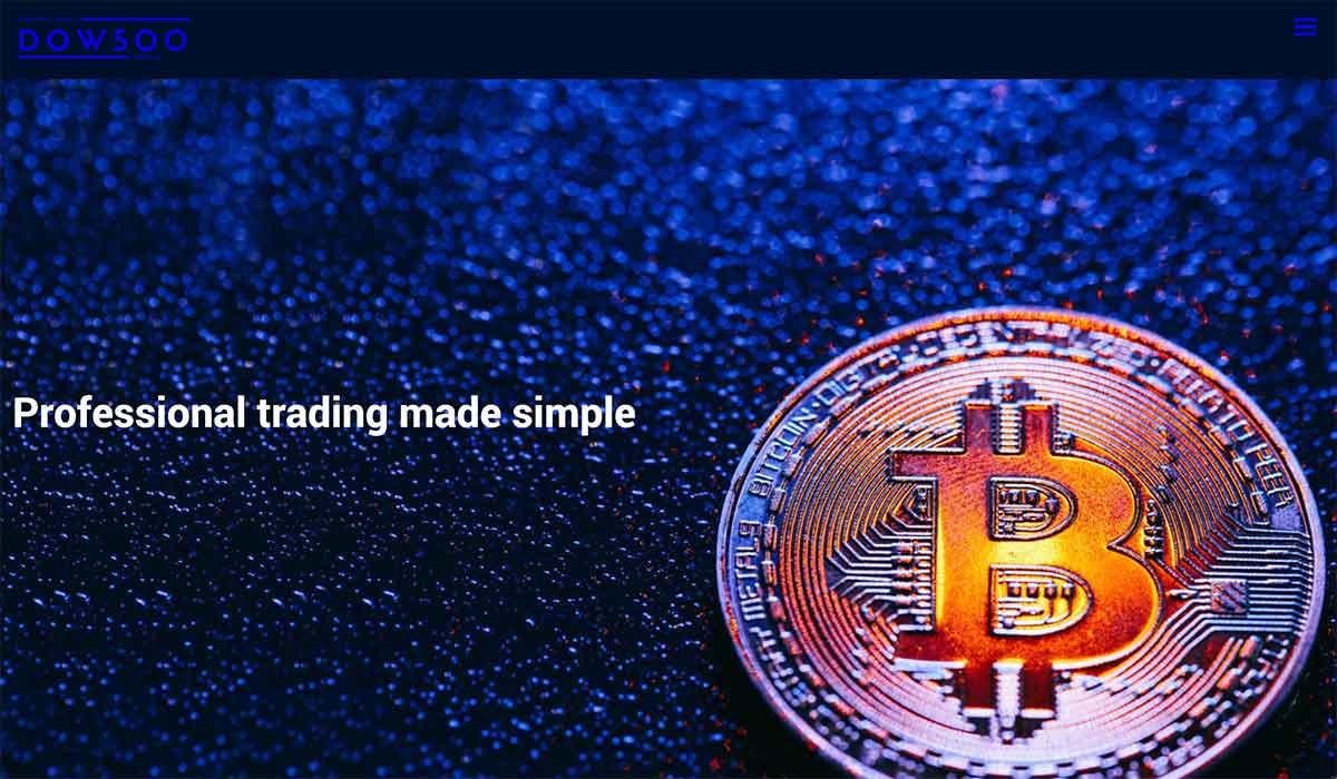 Página web de Dow500