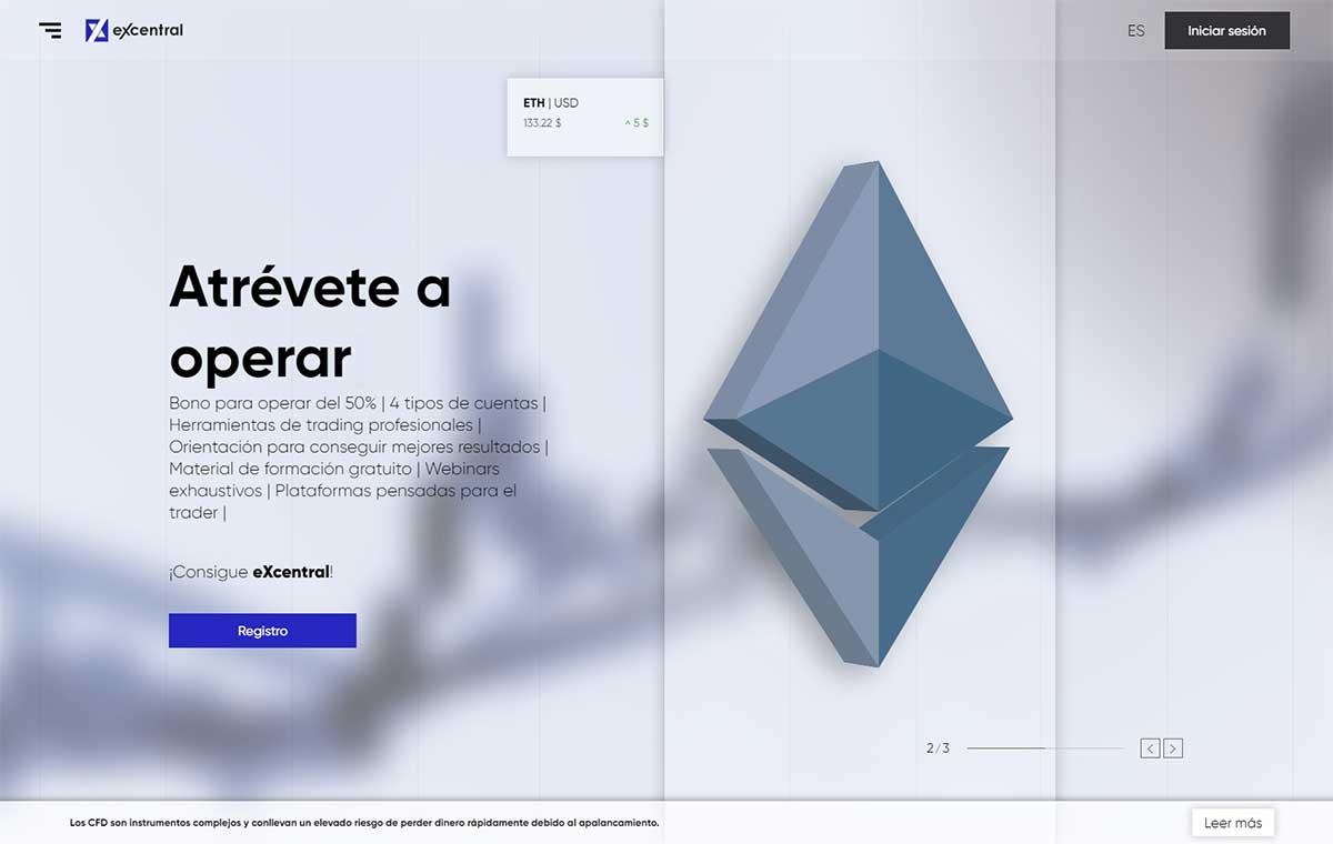 Página web de eXcentral