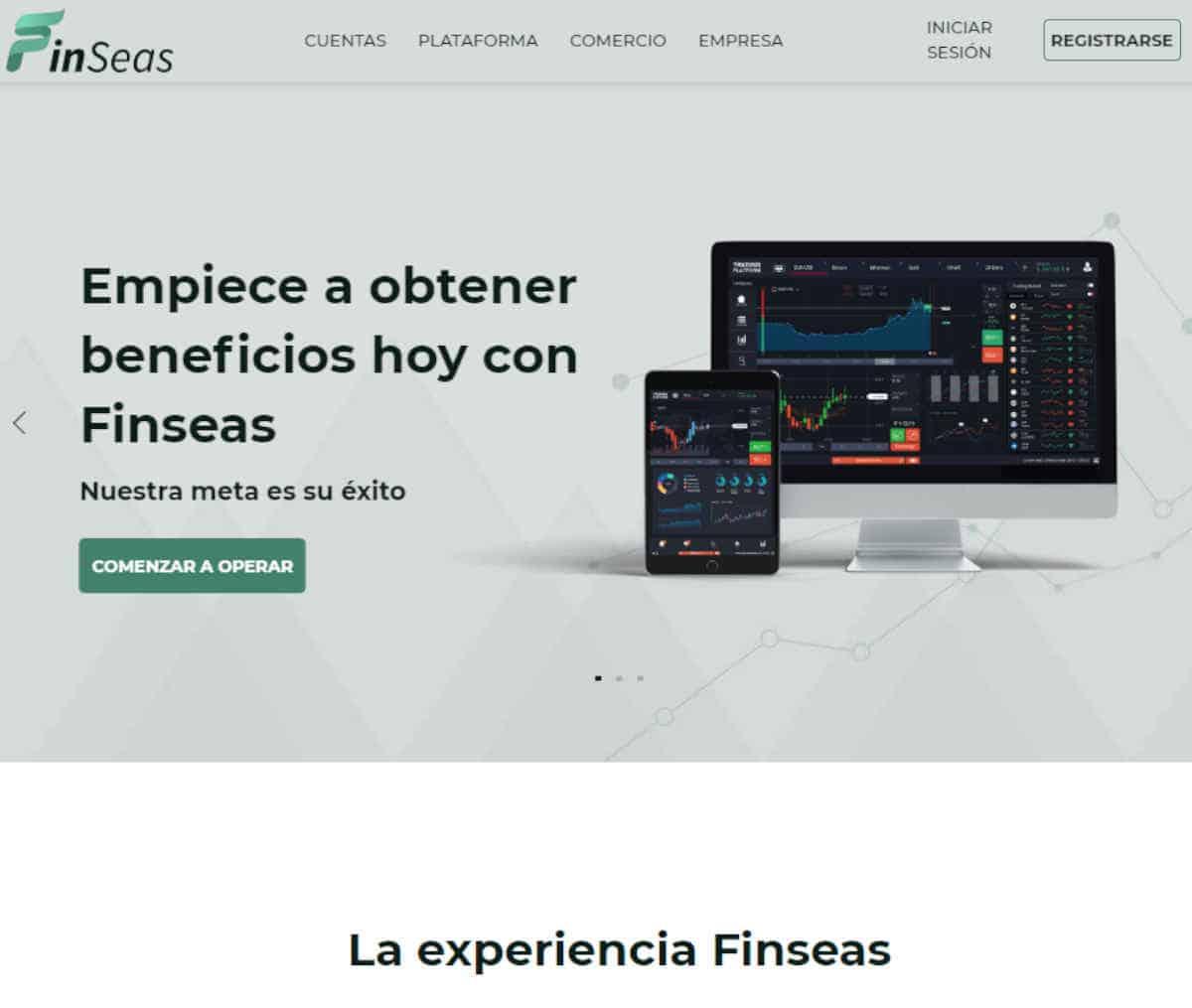 Página web de Finseas
