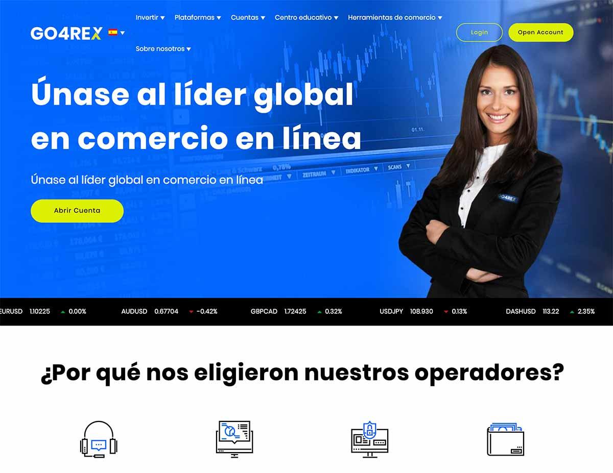 Página web de Go4rex