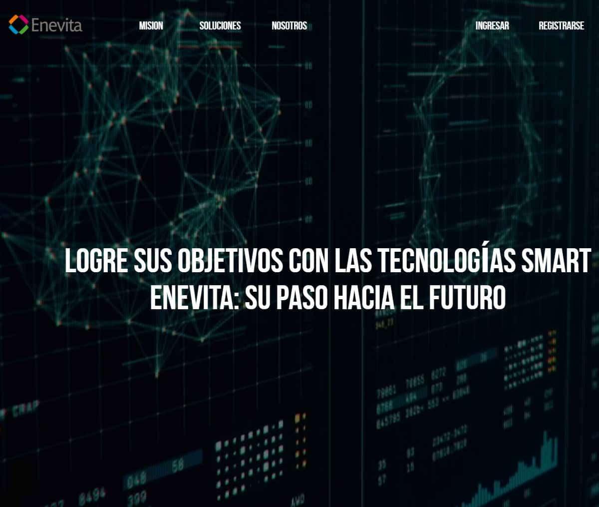 Página web de SmartEnevita